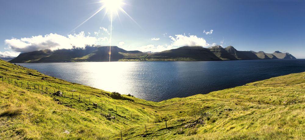 Photo in Landscape #kalsoy #kunoy #faroe islands