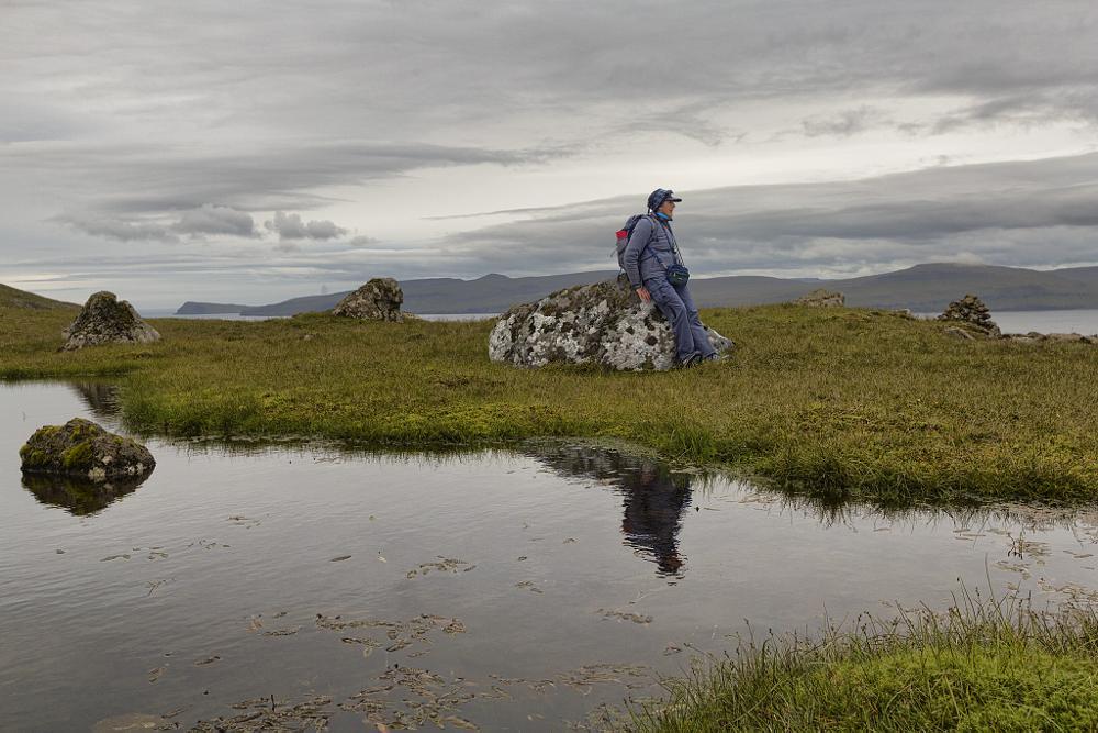 Photo in Landscape #hiking #faroe islands #mountain