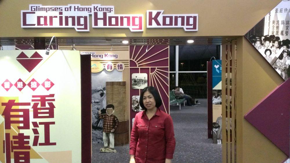 Photo in Travel #china #hong kong #airport exibitions