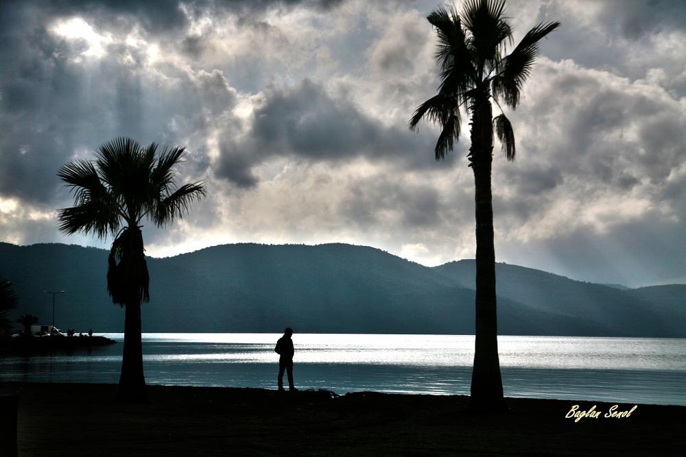 Photo in Sea and Sand #sea #clouds #seascape