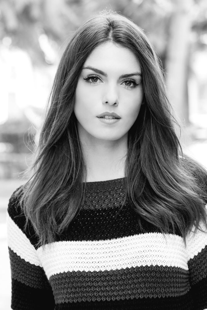 Photo in Portrait #portrait #model #black and white #beauty #cute #beautiful