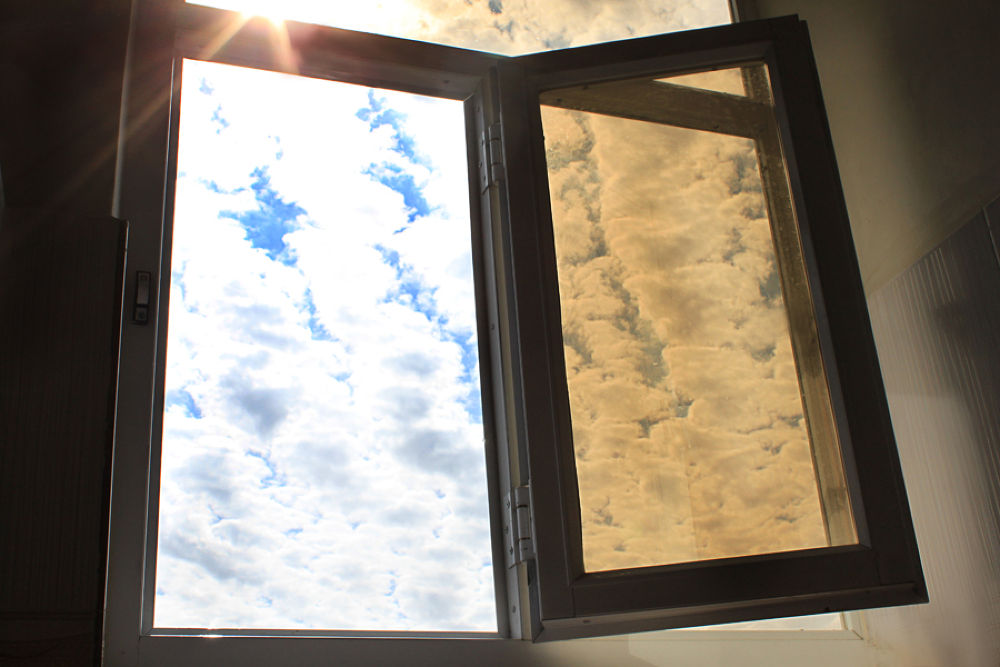 Photo in Fine Art #window #sky #cloud