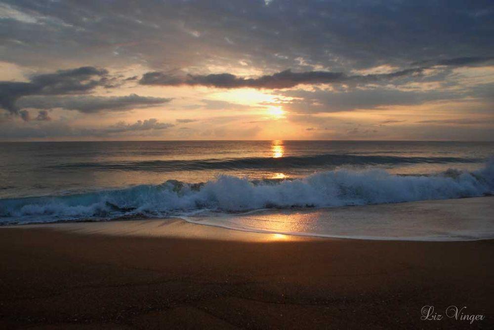 Photo in Landscape #sunrise #bluff beach #bocas del toro #panama