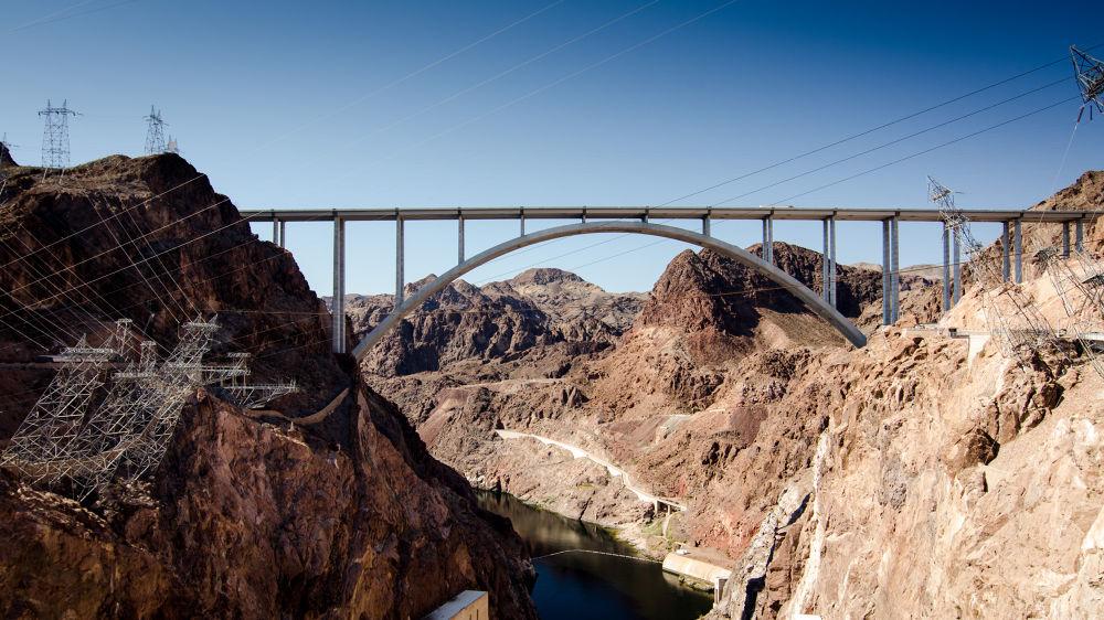Photo in Landscape #landscapes #hoover dam #d7000 #bridges