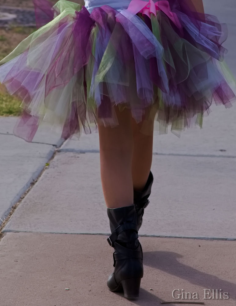 Photo in Random #boots #tutu #fashion #statements #expression #expressive #walking #street photography #portrait