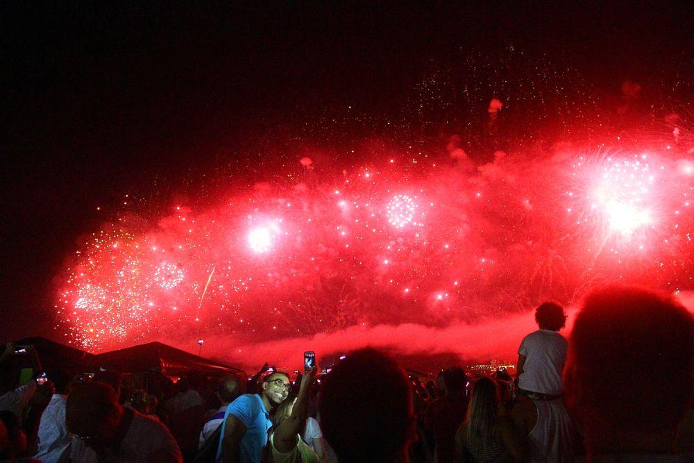 Photo in Journalism #new year #copacabana #rio de janeiro