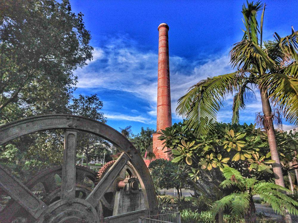 Photo in Urban #factory #sugar cane #old grinder #dinarte #madeira