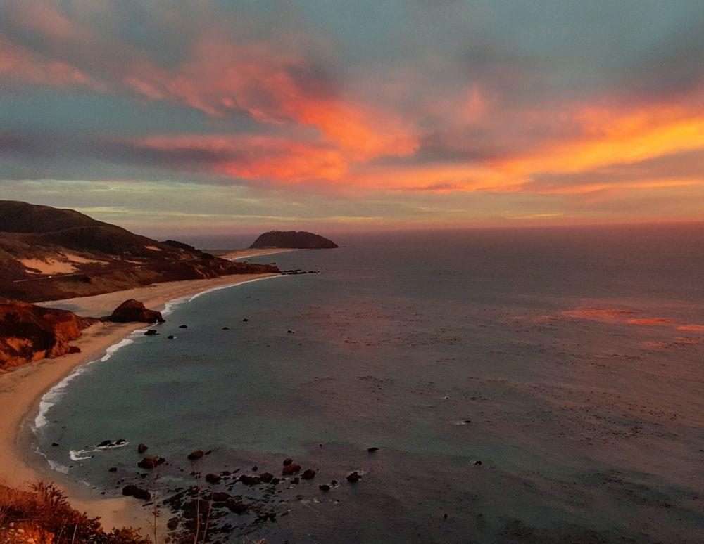 Photo in Random #sunset #pacific #westcoast #cali #california #highway1