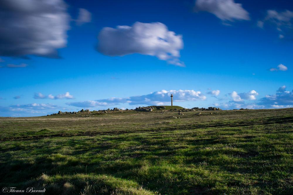 Photo in Landscape #landscape #france #nature #cross #croix #roc