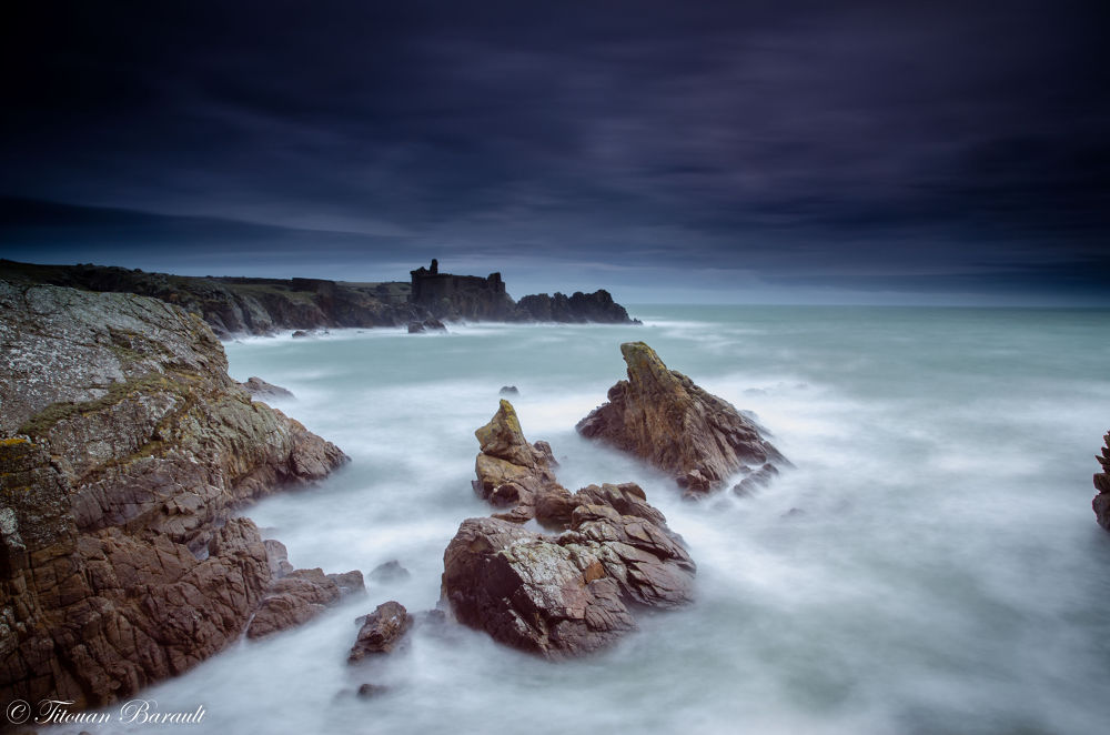 Photo in Landscape #sea #water #mer #rocks #roches #long exposure #pose longue #landscape #seascape #paysage #nikon #tamron #d7000 #france