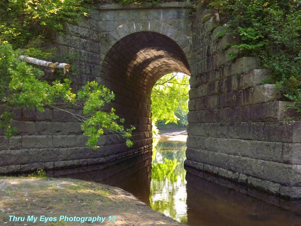 Photo in Random #train tracks #train bridge #river #landscape #rural #random