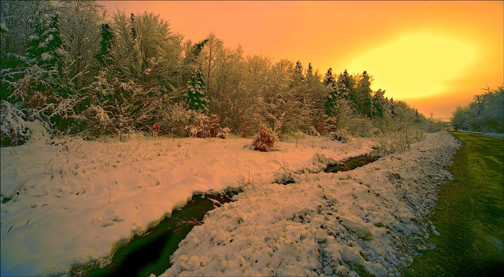 Photo in Landscape #nature #winter #landscape #random #snow #white #neige #paysage #city