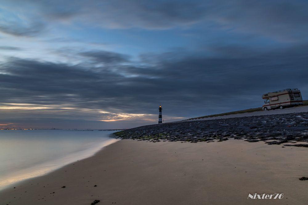 Photo in Random #vuurtoren #camper #strand #zee