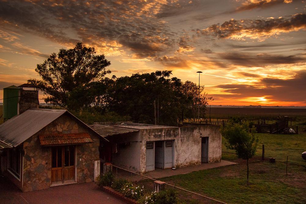 Photo in Landscape #campo- amanecer en el campo -a