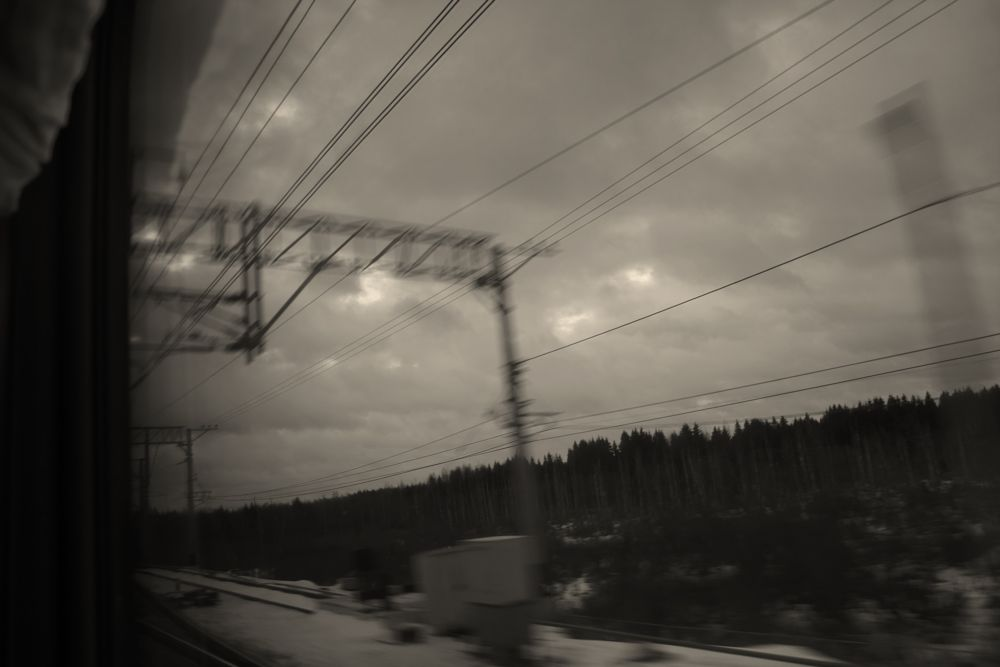 Photo in Travel #journey #a train #winter