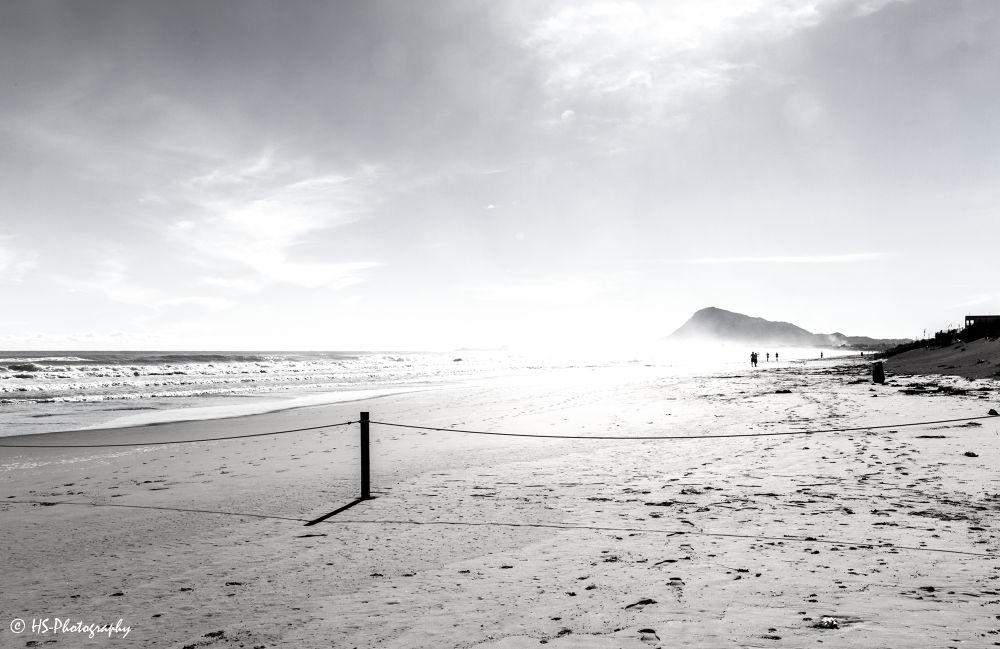 Photo in Black and White #beach #water #sea #cañón #spain #black and white #denia #herbert #seiffert #costa blanca #hs-photography