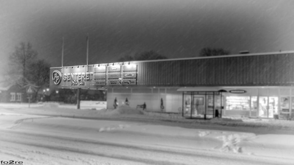 Photo in Black and White #porsgrunn #telemark #norge #norway #winter wonderland #lumix gm1 #bygg #building #arkitektur #archtiechure #winter #vinter #snow #snø