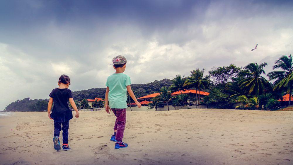 Photo in People #friends #kids #beach #a3000 #ilce-3000 #sony