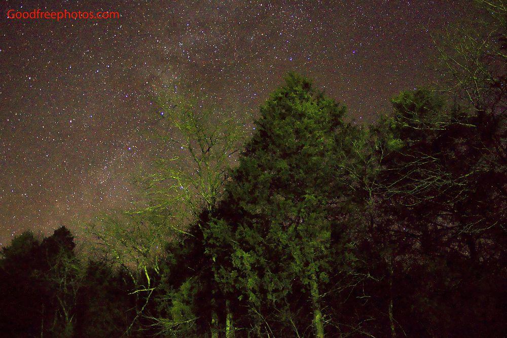 Photo in Landscape #landscape #stars #night #missouri #galaxy