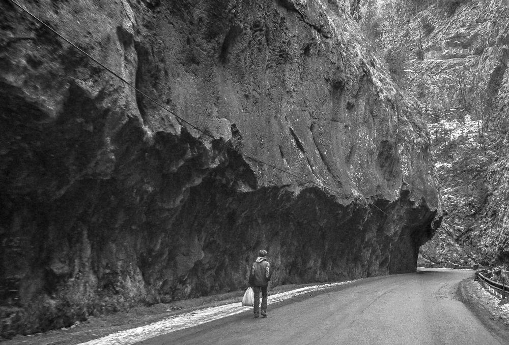 Photo in Black and White #bw #mountains #romania