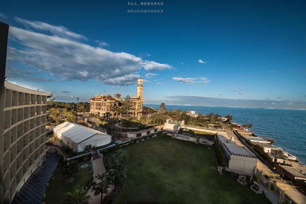 Photo in Landscape #egypt #alexandria #palace #sea #travell #landscape