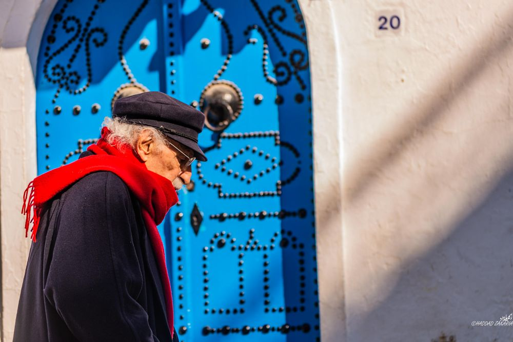 Photo in Street Photography #people #spring #street #tunis #portrait #color #tunisia #person