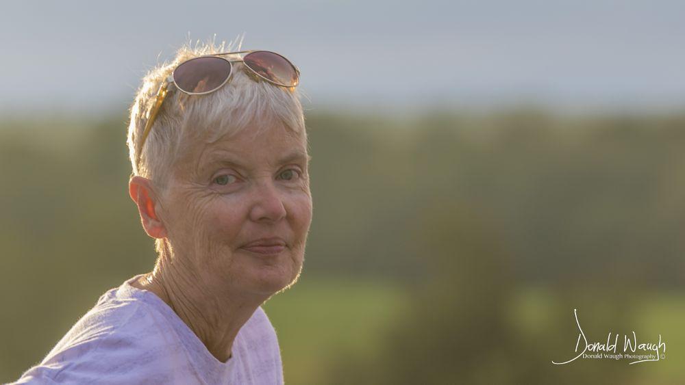 Photo in Portrait #portrait #rim light #landscape #woman