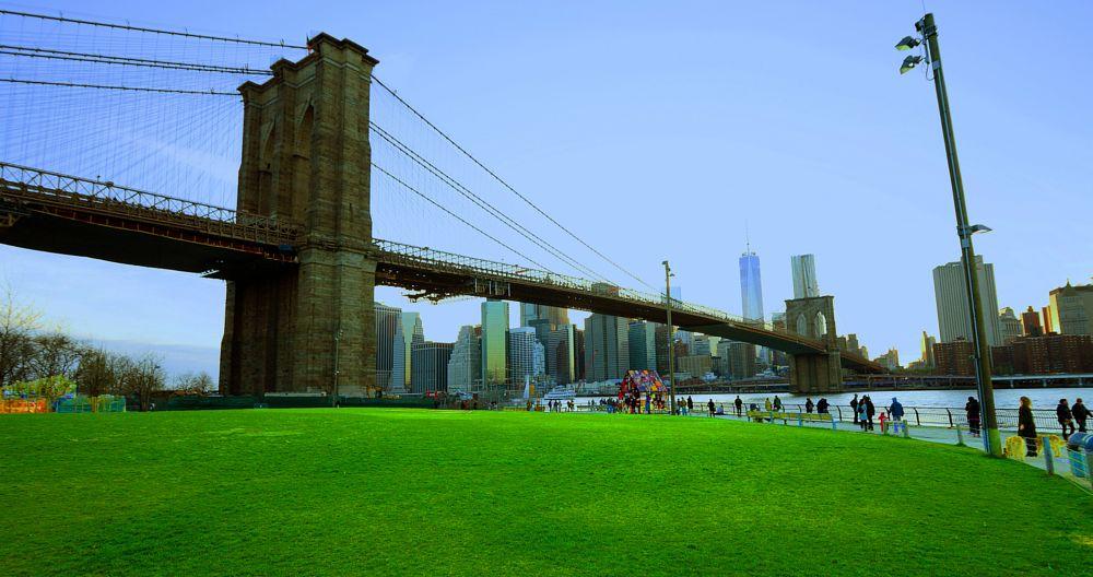 Photo in Cityscape #brooklyn bridge park #brooklyn bridge #lower manhattan