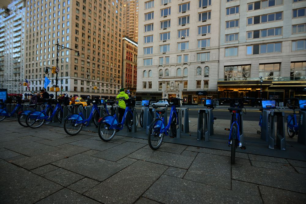 Photo in People #citibike #central park nyc #biking central park
