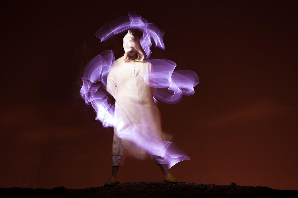 Photo in Fine Art #light painting #portrait #ciscolightpainting #cisco lightpainting #kechlight #marrakech
