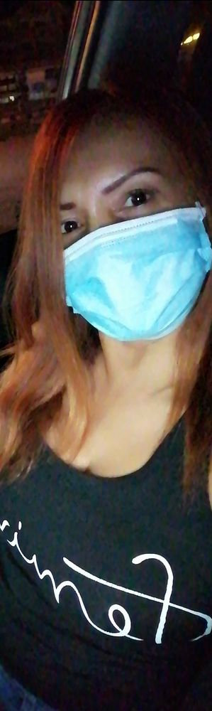 Photo in People #mask #worldwide #longhair #staysafe #welt #wearingmask #florida #detroit #canada