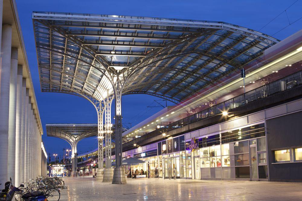 Photo in Cityscape #cologne #railway station #train
