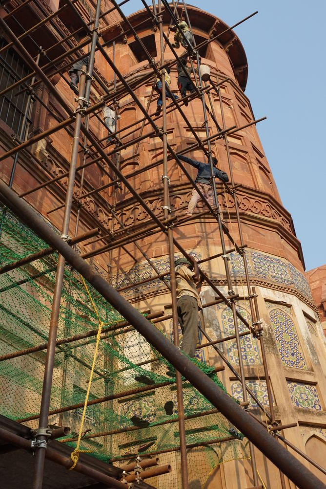 Photo in Street Photography #city #urban #building #architecture #india #agra #red fort