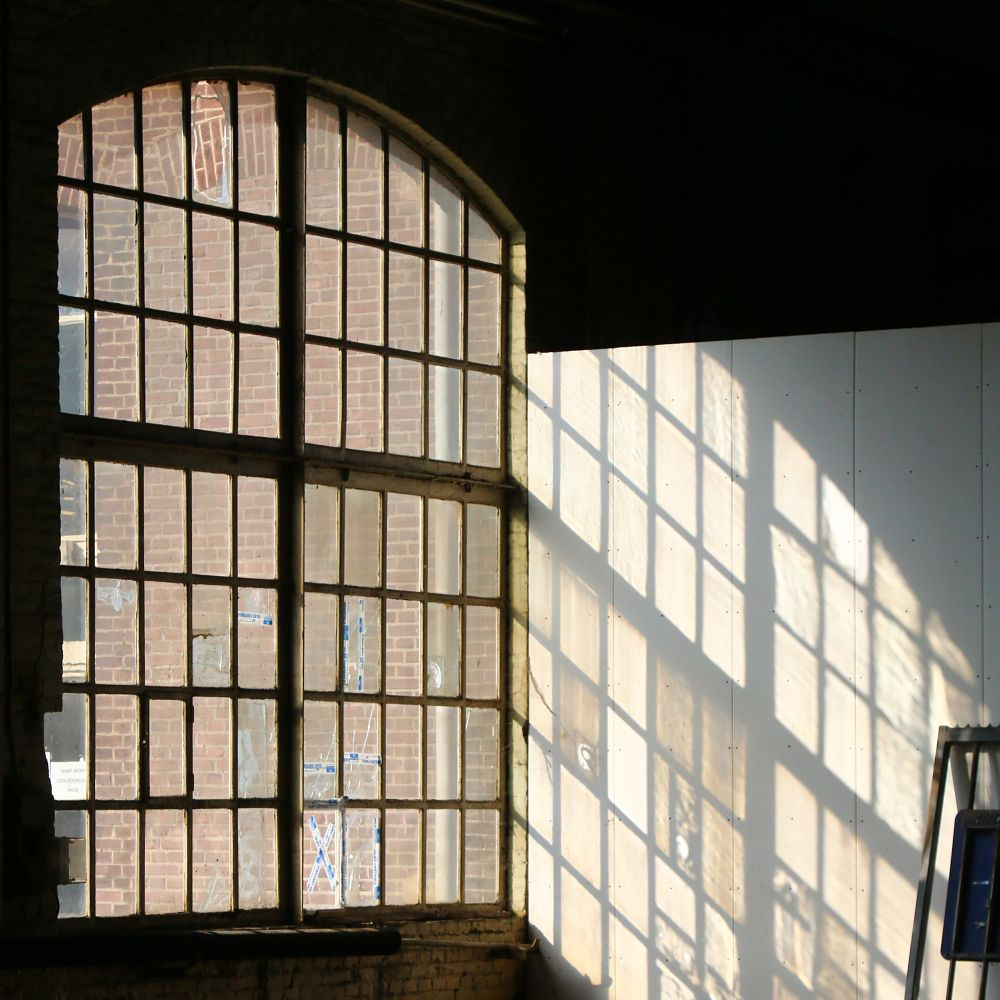 Photo in Industrial #urbex #urban #railway #building #cityscape #industrial #detail #window #architecture