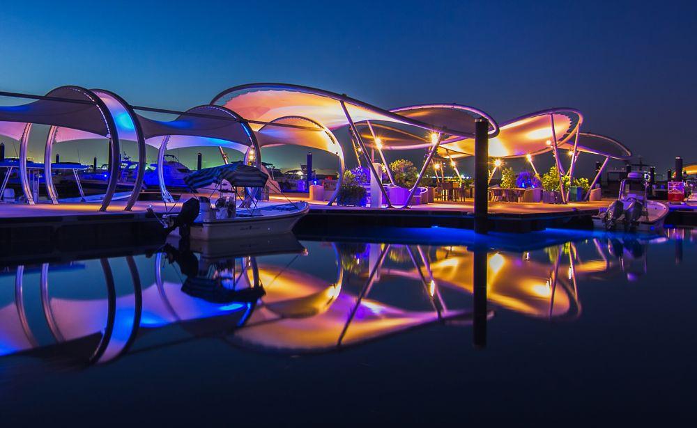 Photo in Architecture #doha #qatar #marina #lusail #city #water #architecture