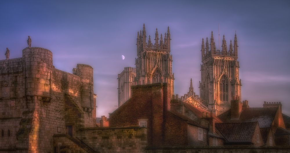 Photo in Landscape #york #england #minster #cathedral #yorkshire #city #architecture #landscape #building #skyline #church #gothic