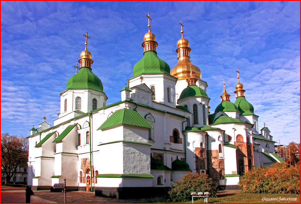 Photo in Random #ukraine #cathedral #kiev #st sophia