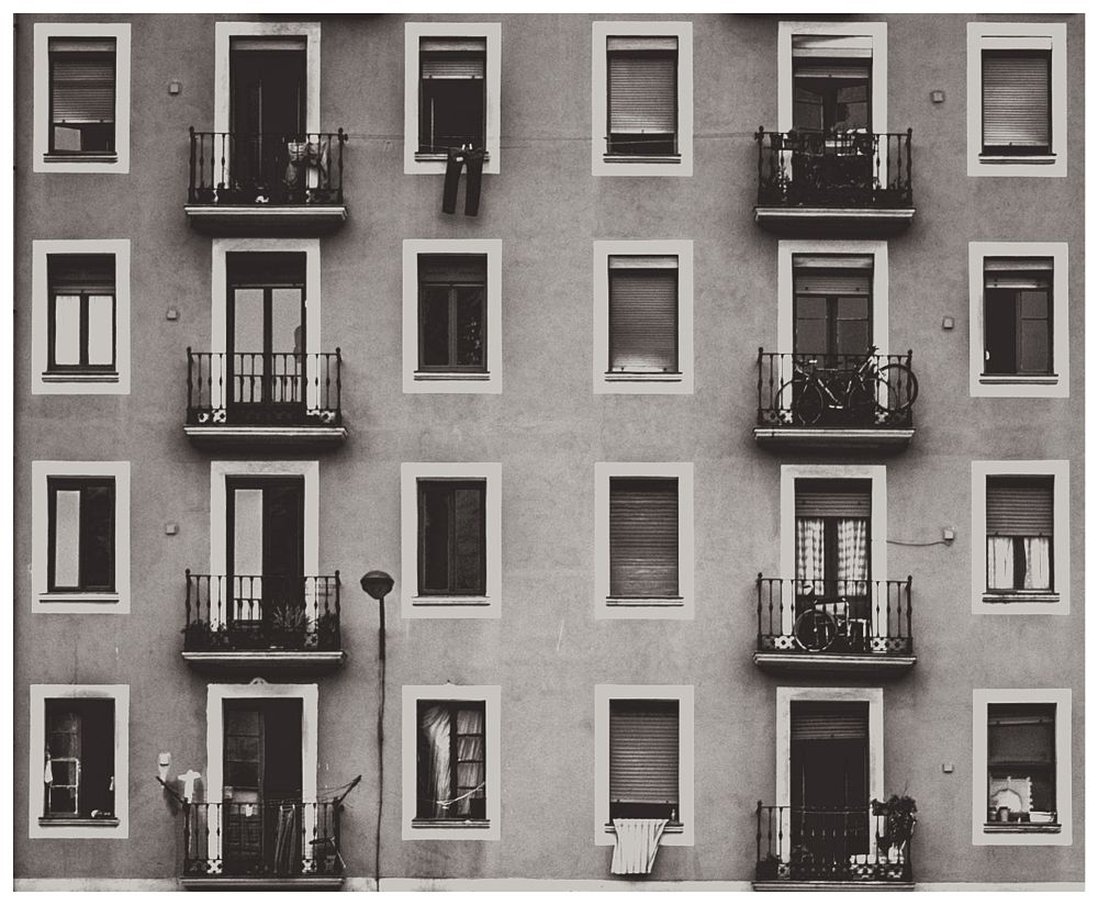 Photo in Black and White #window #house #black and white
