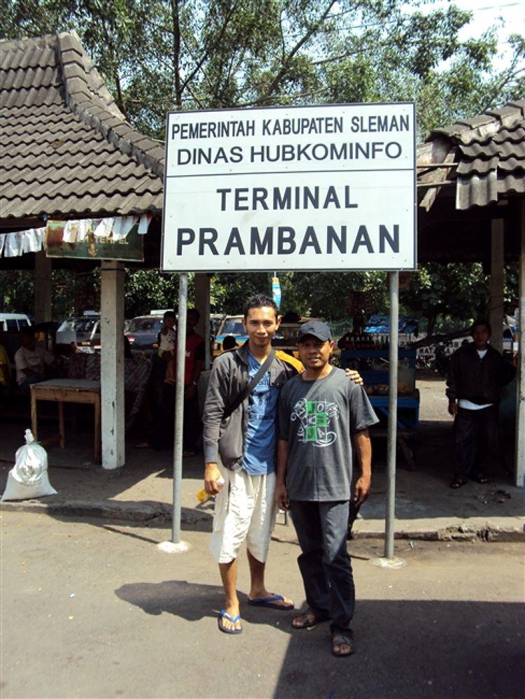 Photo in Random #in #bus #station #prambanan