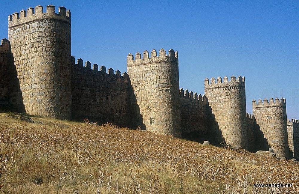Photo in Random #castle #avila #spain #towers