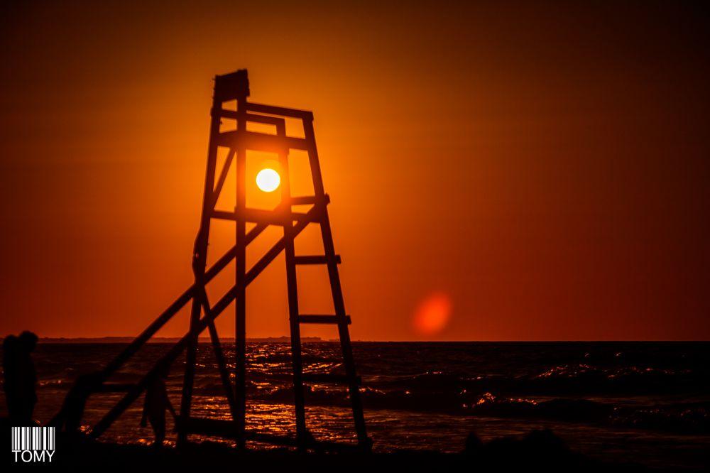 Photo in Still Life #sunset #still life #sky #summer #seascape #silhouette #sun