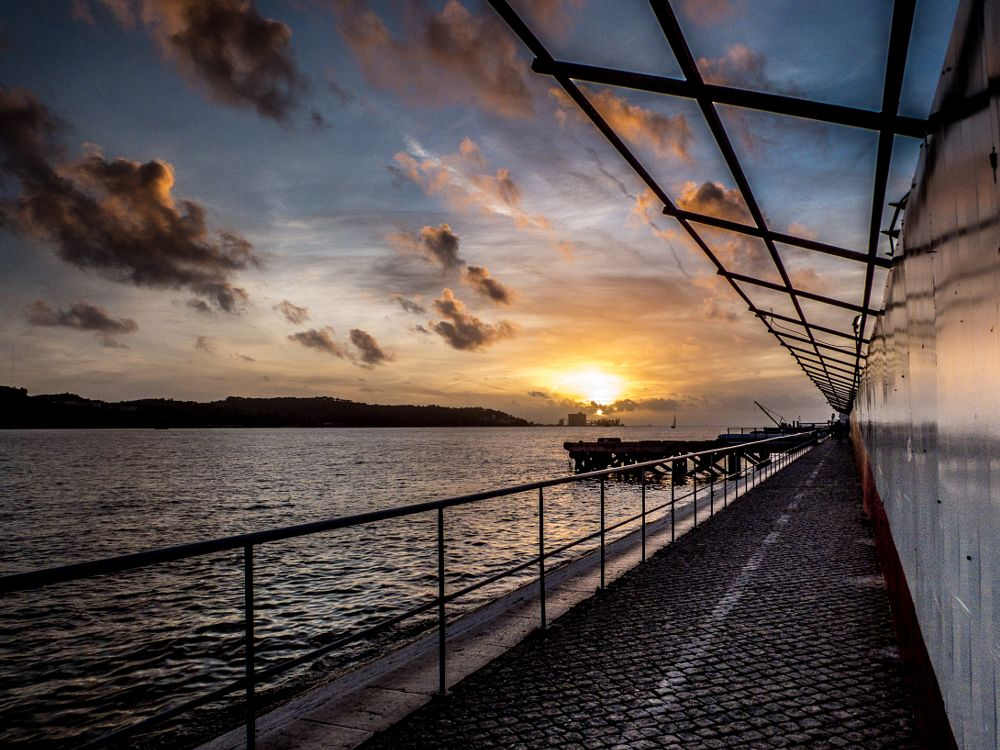 Photo in Street Photography #sunset #lisbon #rui assis