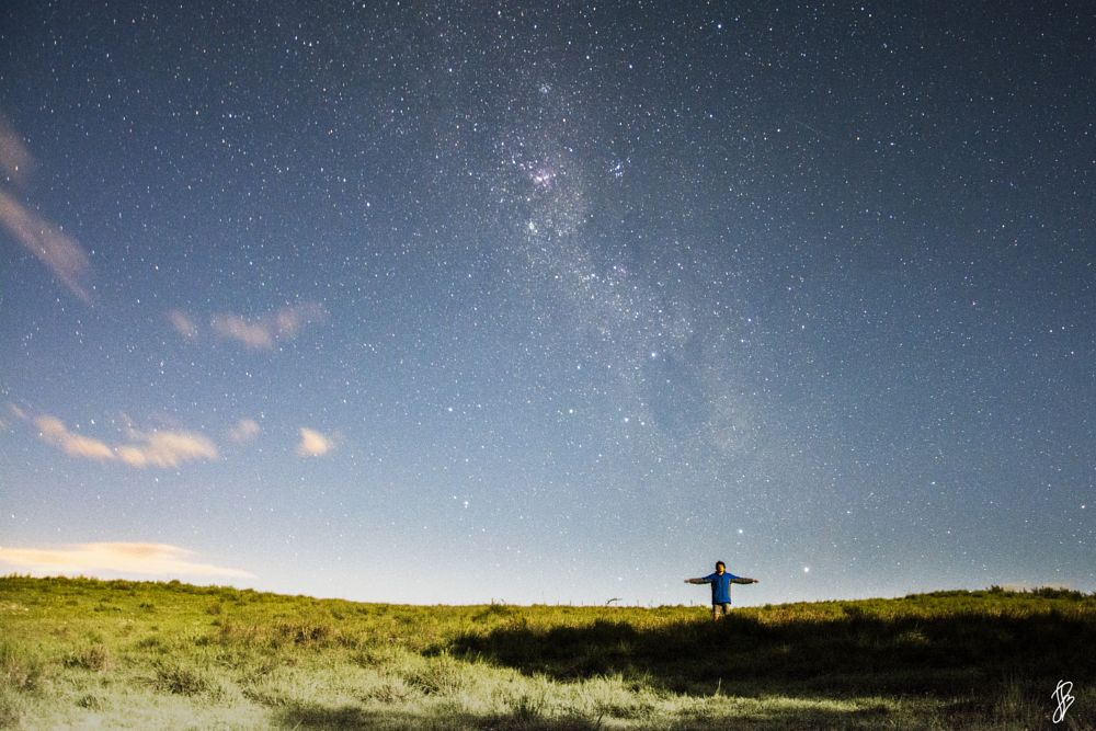 Photo in Random #noche #estrellas #luna #sombras #arboles #nikon