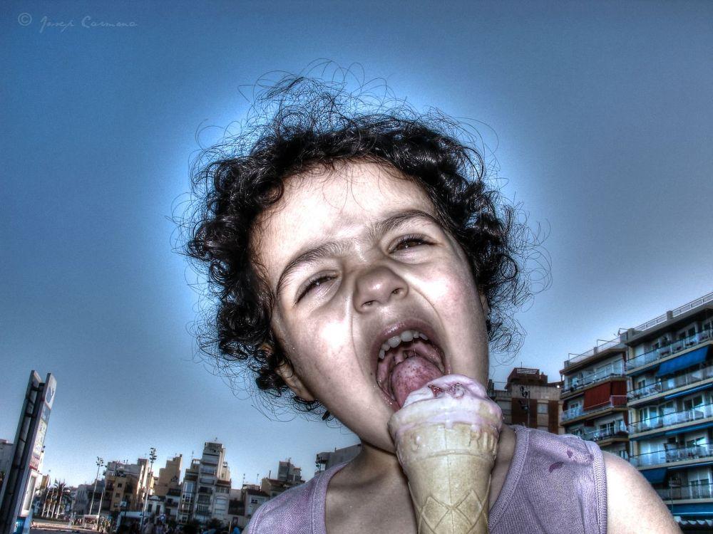 Photo in Family #kids #summer #eating ice cream #ingrid