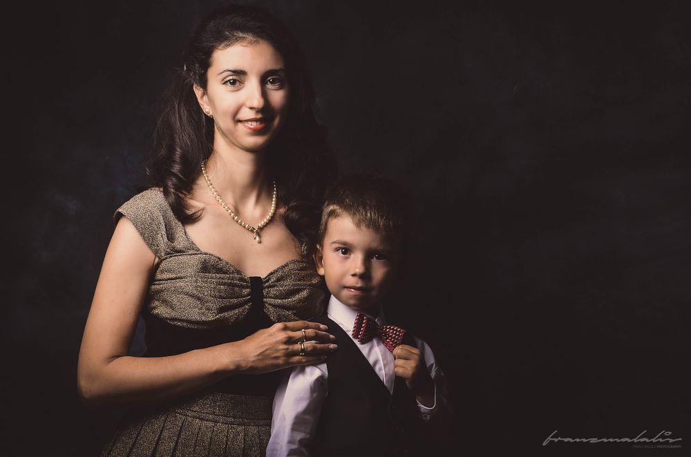 Photo in Portrait #mother #son #portrait #portraiture #francais #french #duo