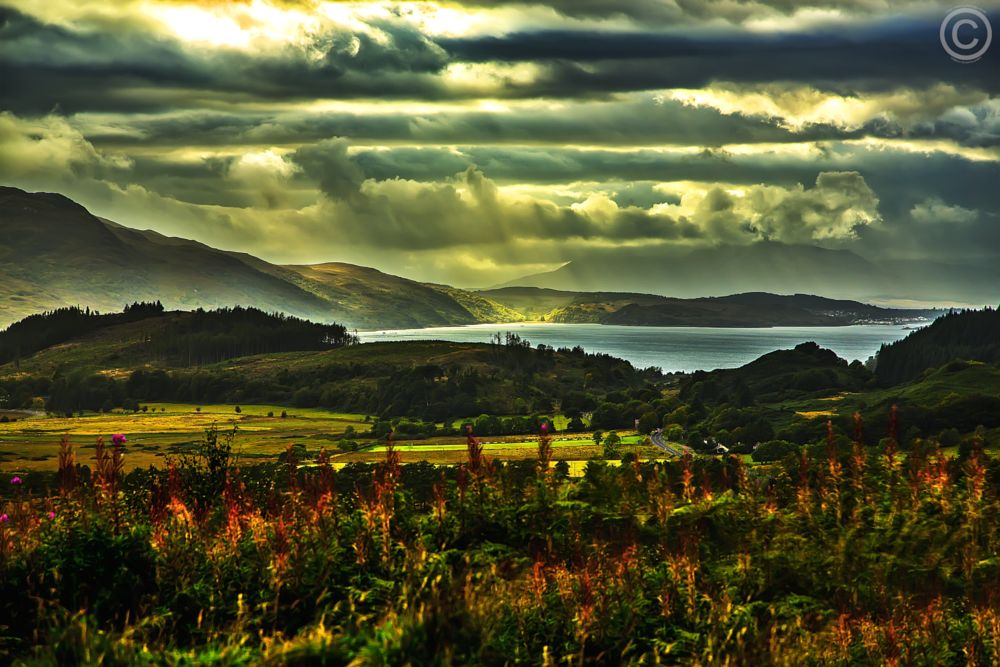 Photo in Landscape #lake district #landscape #canon #sky #england #weather #nature