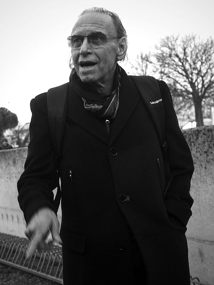 Photo in People #candid #street portrait #black and white