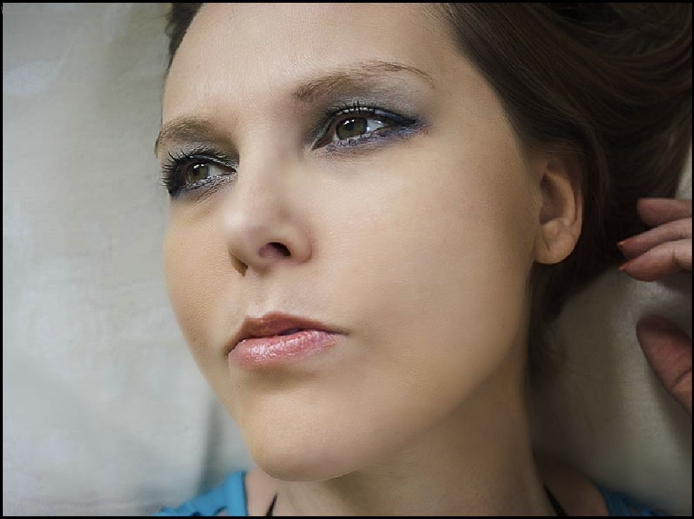 Photo in Portrait #portrait female #close up #capture