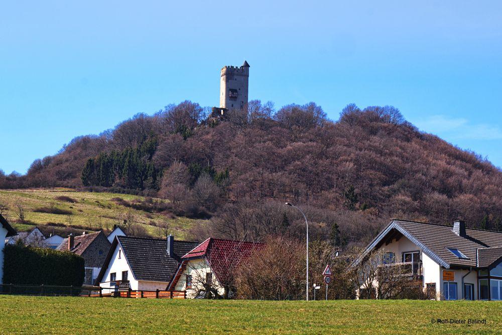 Photo in Landscape #castle #burg #ruine #ruin #village #dorf