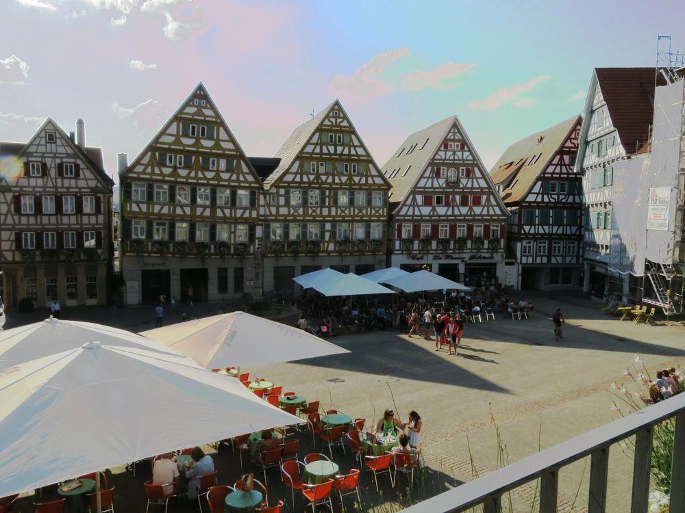 Photo in Cityscape #rottenburg #neckar #markt #sommer #heiß